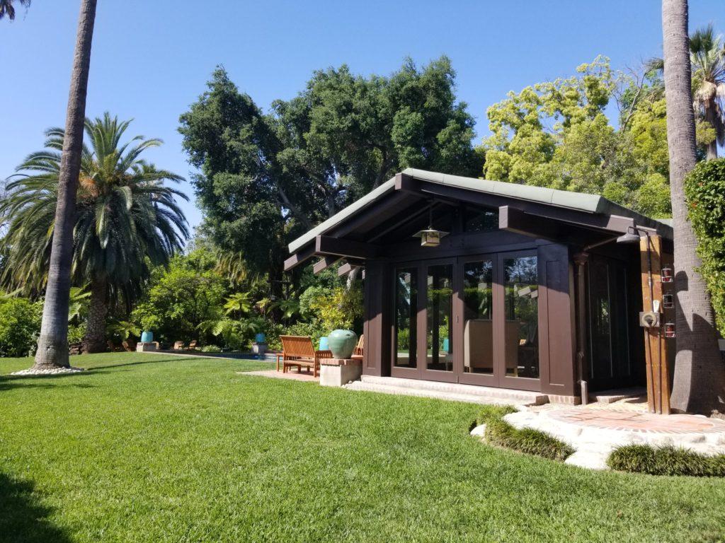 Pasadena Pool House Greene and Greene Freeman Ford Residence Craftsman Historic Preservation
