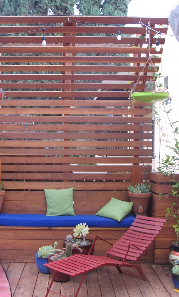 Silverlake Deck Outdoor Space Contemporary Design Residential