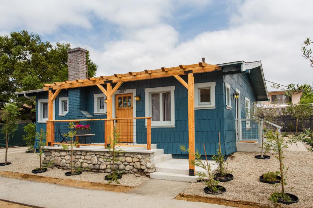 Highland Park  Garvanza HPOZ Craftsman ADU Historic Award Winning Residential Architect