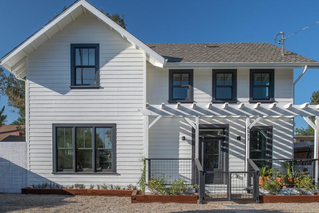 Highland Park Garvanza HPOZ ADU Historic Award Winning New Single Family House Farmhouse Residential Architect