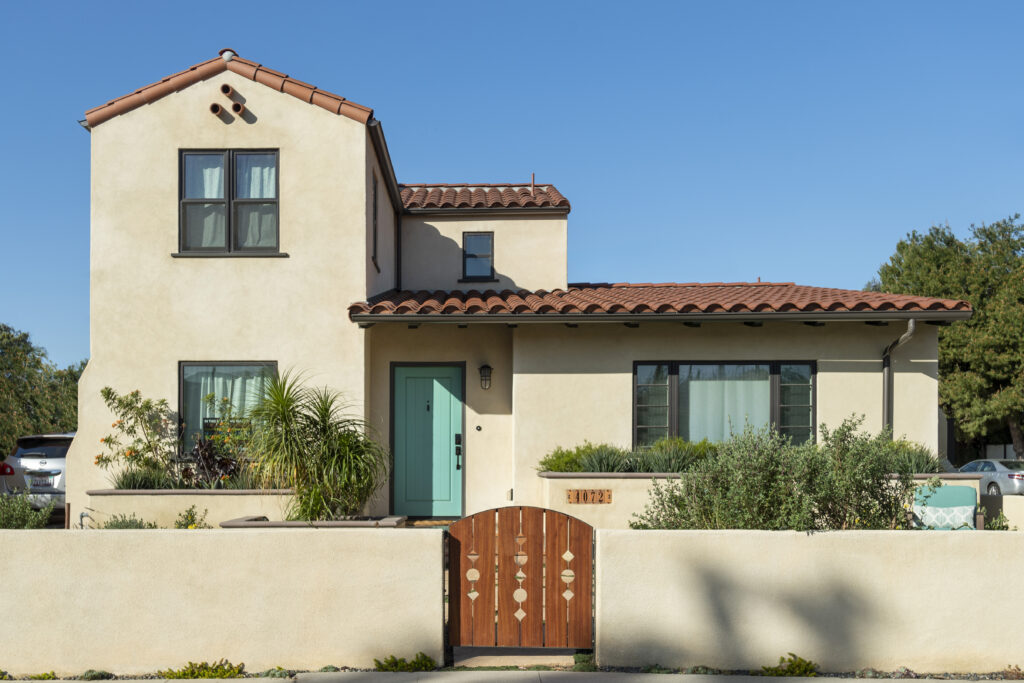 Residential Contemporary Spanish Revival Atwater Architect New Single Family Architecture